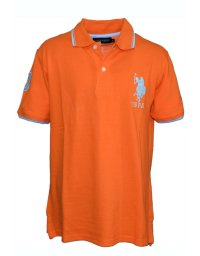 Tricou U.S. Polo ASSN., Orange