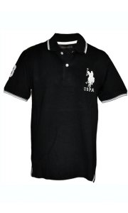 Tricou U.S. Polo ASSN., Black