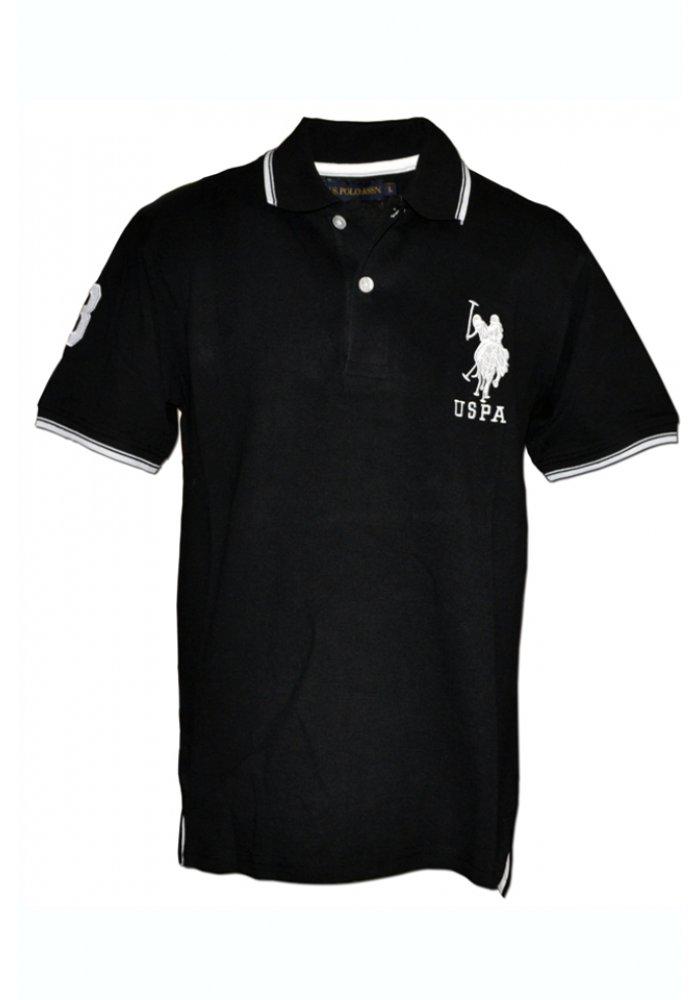 Tricou U.S. Polo ASSN., Black
