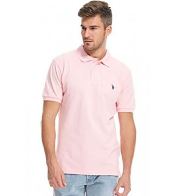 Tricou U.S. POLO ASSN., roz melange