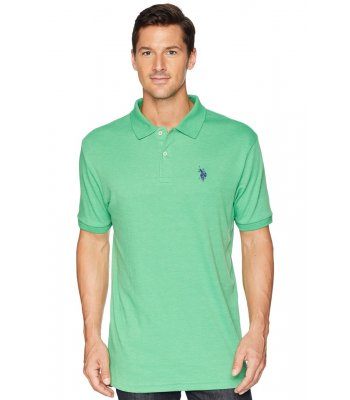 Tricou U.S. POLO ASSN., verde deschis