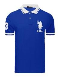 Tricou U.S. Polo ASSN., Royal Blue/White
