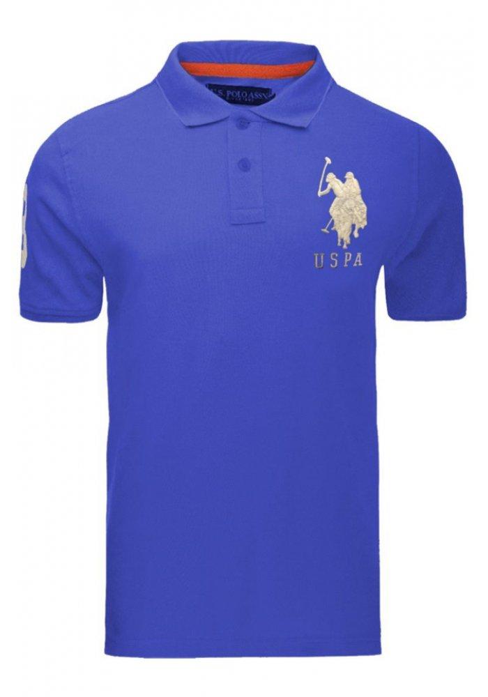 Tricou US POLO ASSN, BLUE Royal