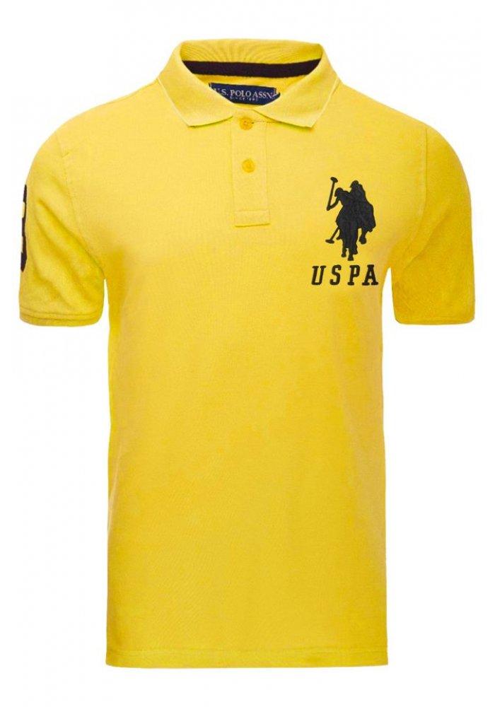 Tricou U.S. Polo ASSN., Galben