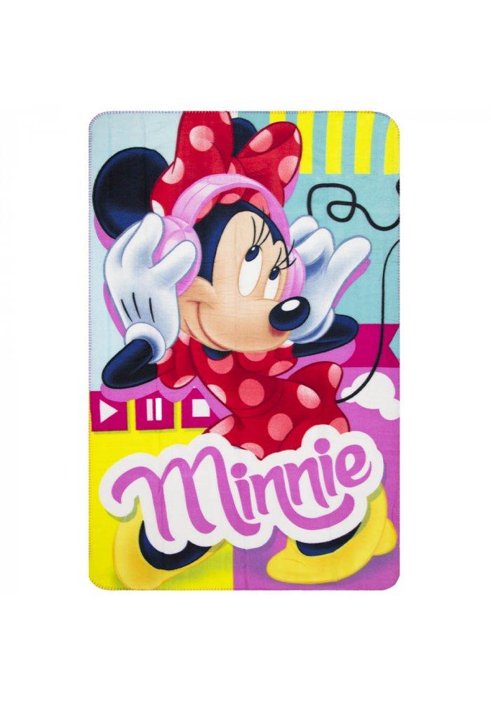 Patura fleece Minnie Mouse