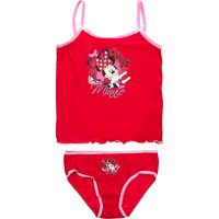 Lenjerie copii Minnie Red
