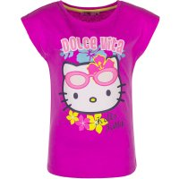 Tricou Hello Kitty Dolce Vita Fuxia