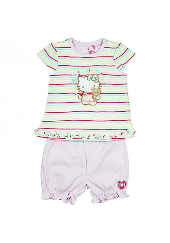 Costum bebe Hello Kitty