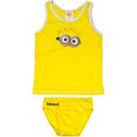 Lenjerie copii Minion True Yellow
