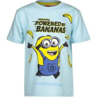 Tricou Minions Powered by bananas