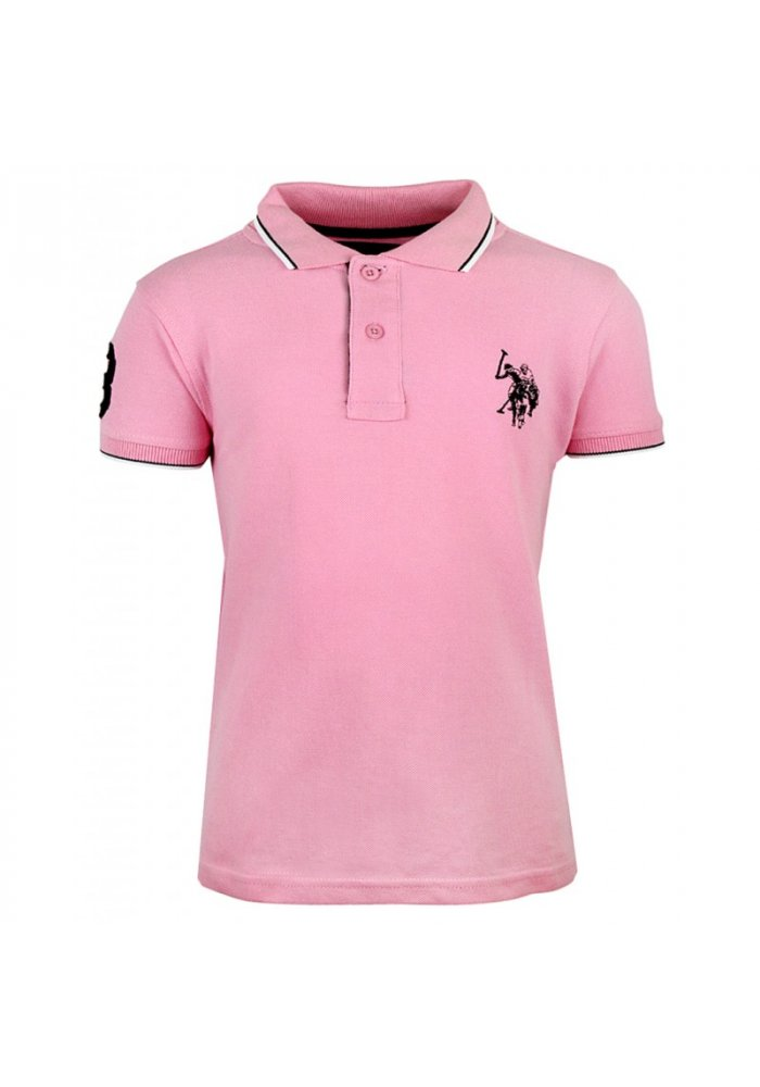 Tricou copii US Polo Pink